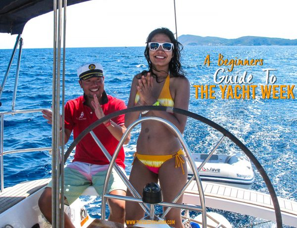 A BEGINNERS GUIDE TO THE YACHT WEEK