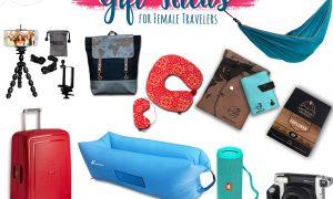 GIFT IDEAS FOR FEMALE TRAVELERS