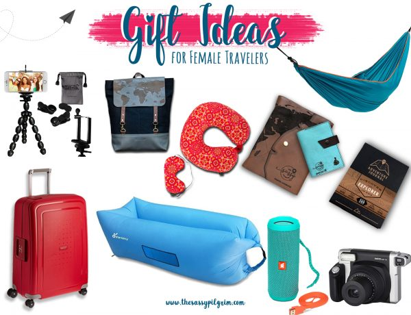GIFT IDEAS FOR FEMALE TRAVELERS