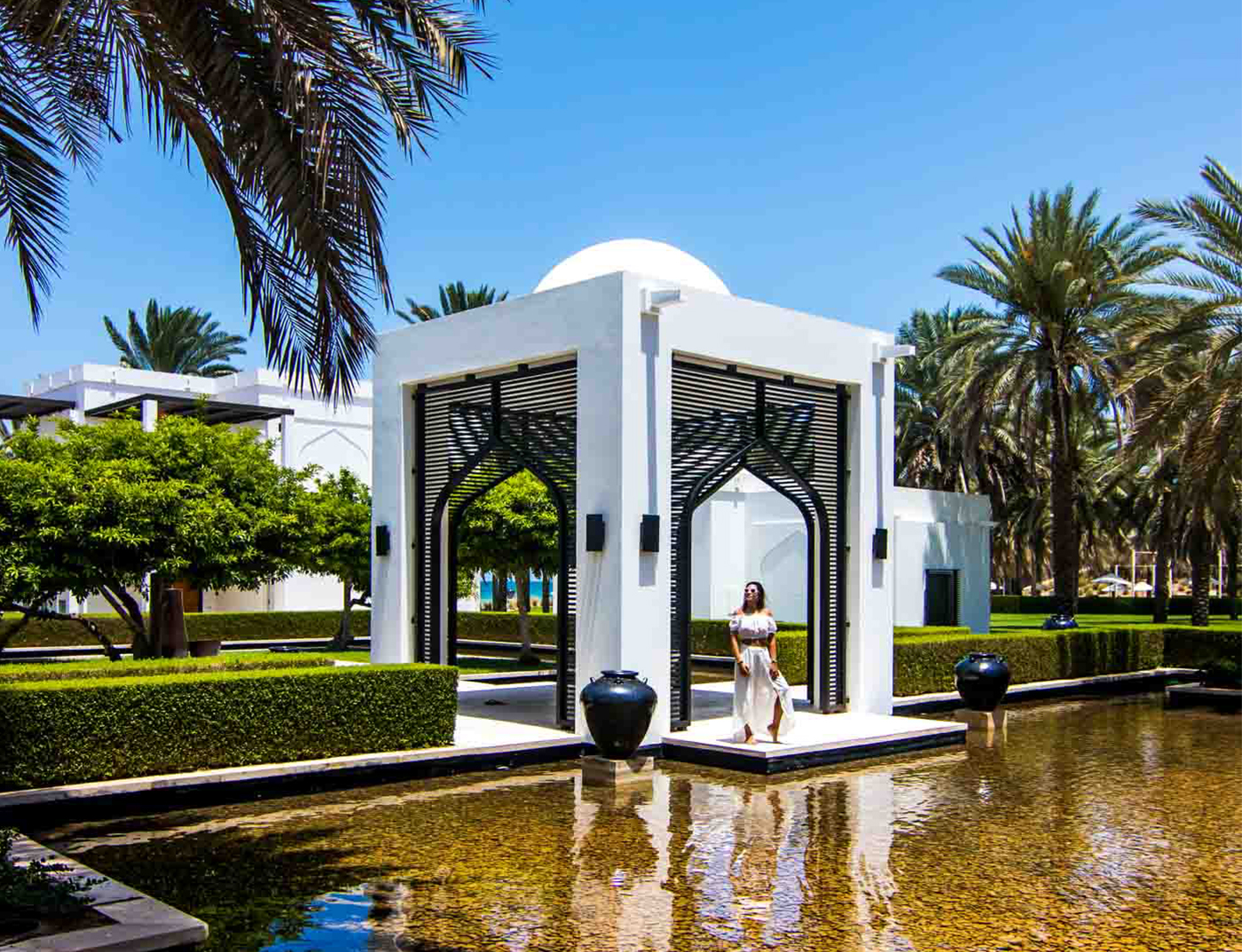 STAYING AT THE CHEDI MUSCAT